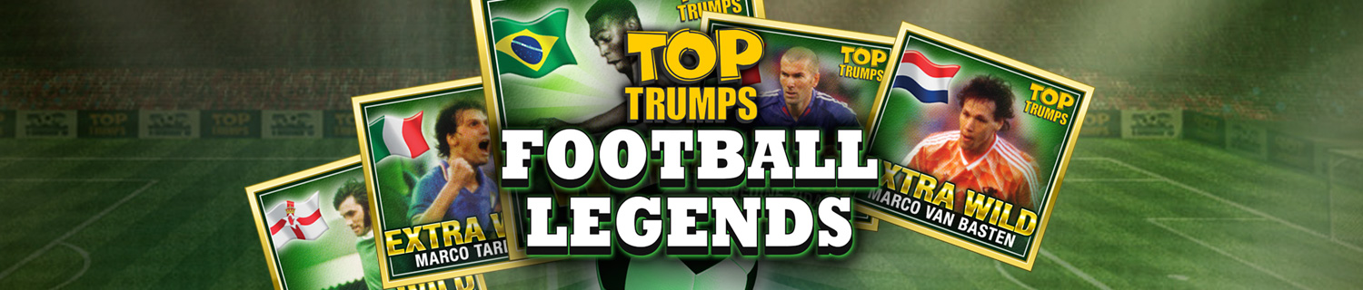 Top Trumps Football Legends